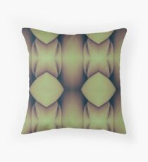 Golden Caverns Throw Pillow