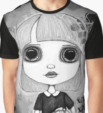 Number One Fan (Black & White Version) Graphic T-Shirt
