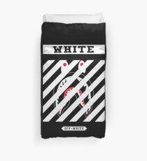 Off White x White Shark Duvet Cover