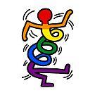 Keith Haring Gay Spring von Freshfroot