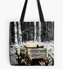 Uncovered Wagon II Tote Bag