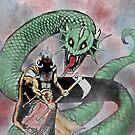 Der Drachentöter - Original Art von MaskedMarvel