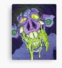 Barf Monster Canvas Print