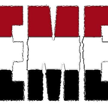 Yemen Font With Flag by Havocgirl