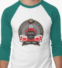 It's Dangerous To Go Alone! Take This Whiskey Men's Baseball ¾ T-Shirt