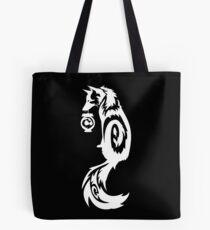 Weißer Fox Kitsune Stammes- mit Spiritus-Laterne Tasche