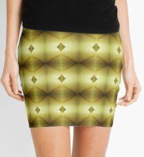 Wet Look Mini Skirt