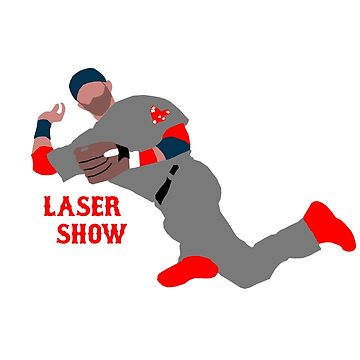 """Dustin Pedroia - """"Laser Show"""" by DHink182"""