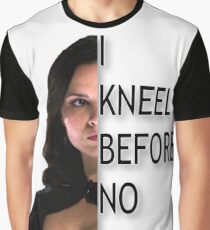 """I kneel before no one."" Graphic T-Shirt"