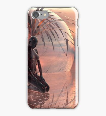 She Was Naked iPhone Case/Skin