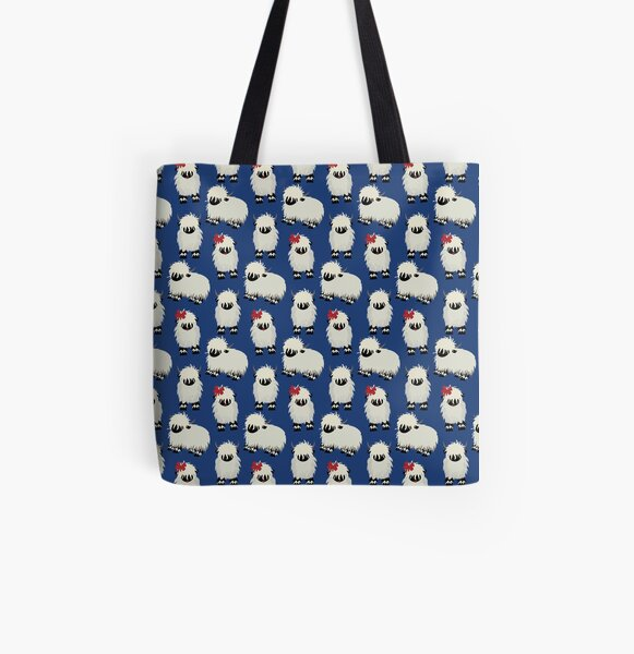 Lots of Sheep! All Over Print Tote Bag