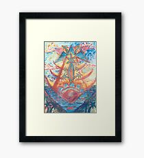 Fish Isle Dream Framed Print