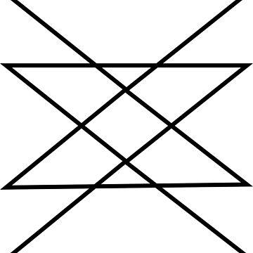 Geometric Tribal Triangles by evlar