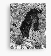 The Jungle at Night Canvas Print