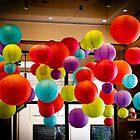 Floating balls by Thaddeus Zajdowicz