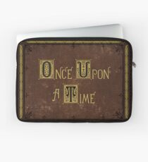 Once Upon A Time Book Laptop Sleeve