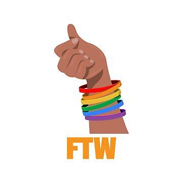 LGBT FTW by evlar