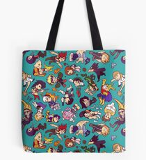 Plus Ultra Pattern Tote Bag