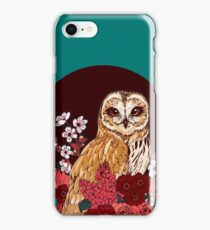Owl Floral Eclipse iPhone 8 Case