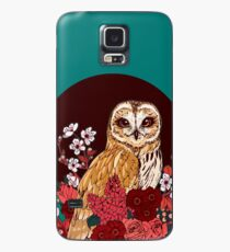 Owl Floral Eclipse Case/Skin for Samsung Galaxy
