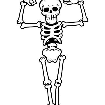 Mr Halloween Skeleton Bodybuilder by bsanczel