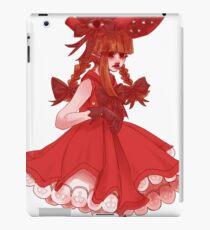 Red Witch Wadanohara iPad Case/Skin