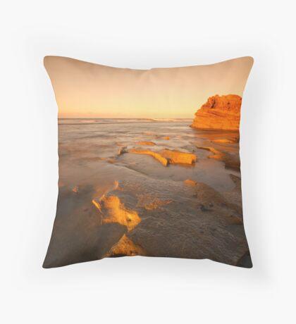 Morning Glow Throw Pillow