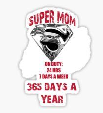 SUPER MOM! Sticker