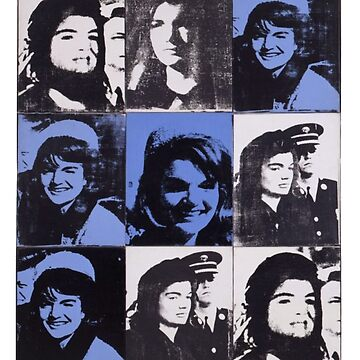 Jackie - Andy Warhol  by Haydenbefort
