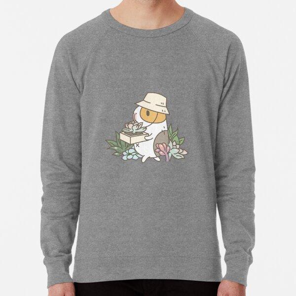 Bubu the Guinea Pig, Succulent Love Lightweight Sweatshirt