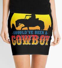 Cowboy Lasso America Mini Skirt