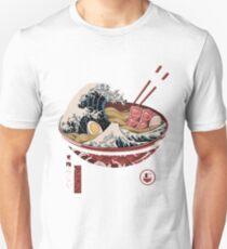 Die große Ramenwelle 69 Slim Fit T-Shirt