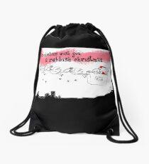 A rubbish christmas Drawstring Bag