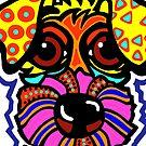 Terrier Dog Dogs Airedale Wheaton Lakeland Kerry Schnauzer Fox Puppy Sealyham Irish Schnauzer Norfolk Norwich Scottish English Gift Idea Jackie Carpenter Cairn by jrcarmax