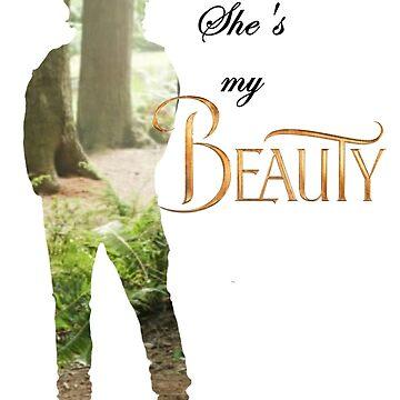 She's my Beauty by werewolf-Pirate