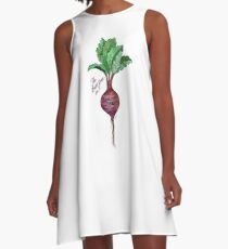 The Beet goes on.. A-Line Dress