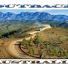Outback Tour (poster edition on white) by Ray Warren