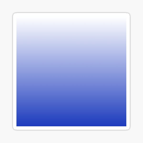 Vishuddha Chakra Blue Ombré  Sticker