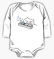 Bongo Cat plays Piano One Piece - Long Sleeve
