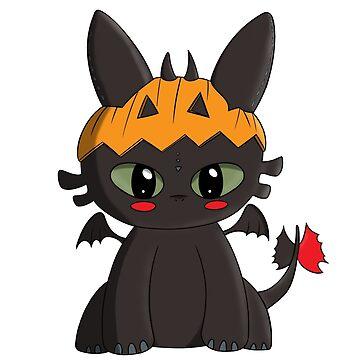 Spooky Dragon by declin93