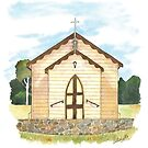 CANBERRA CHURCHES - Sacred Heart Catholic Church, Calwell by Michelle Collier