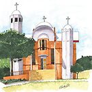 CANBERRA CHURCHES - St Mark's Coptic Orthodox Church, Kaleen by Michelle Collier