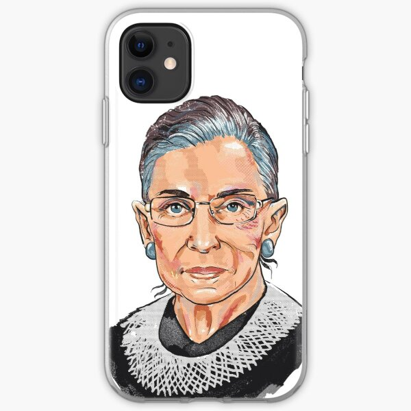 Supreme Court Justice Ruth Bader Ginsburg iPhone Soft Case