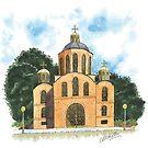 CANBERRA CHURCHES - St Volodymyr's Ukrainian Catholic Church, Lyneham by Michelle Collier