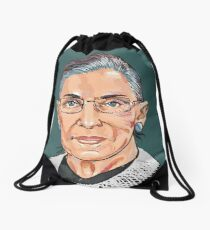 Supreme Court Justice Ruth Bader Ginsburg Drawstring Bag