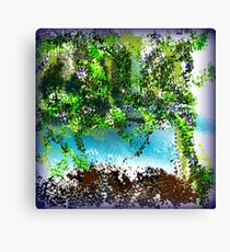 Tropical Trees Canvas Print