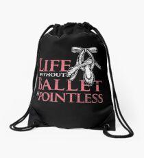Ballet Ballerina Theater Drawstring Bag