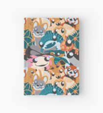 All Together Now! Tight-Knit Animal Icons  Hardcover Journal
