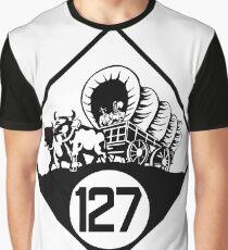 Nebraska State Highway N-127 (1926) | United States Highway Shield Sign Sticker Graphic T-Shirt