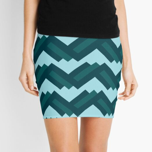 Rolling Mountains Mini Skirt